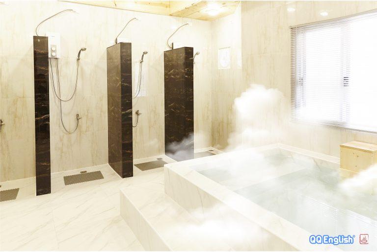 .Dome Onsen bathroom